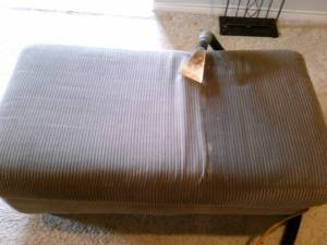 Residue Free Upholstery Cleaning