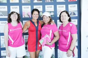 Raffle Winners of Wilhemina Wetmore outfit and the brand founder