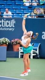 Elina Svitolina playing Aga Radwanska