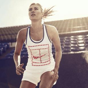 Love the tennis shorts. via @mariasharapova NikeCourt X