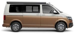 California Bis-couleurs-Blanc Caddy bronze Métalisé