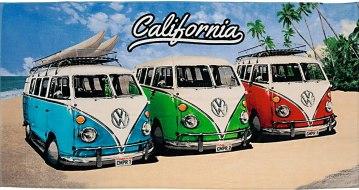 la bonne affaire California Beach T1 Vert Rouge Bleu