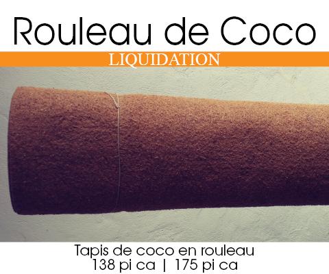 Liquidation de membrane de coco