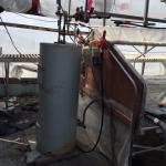 reservoir en acier inoxydable