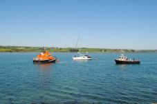 Busy Courtmacsherry Harbour