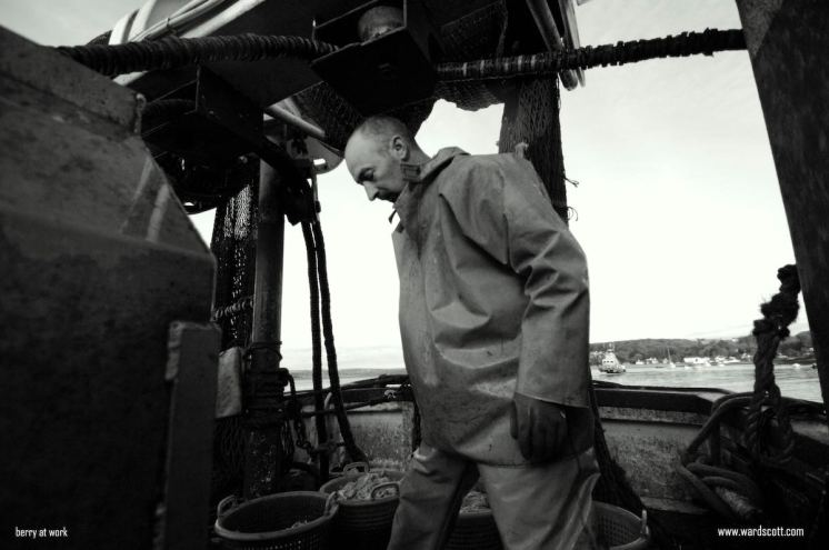 Courtmacsherry Fisherman Barry O' Donovan