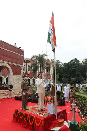 flag hosting in jharkhand high court