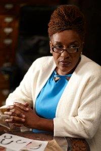 "WAREHOUSE 13 -- Episode 211 ""Reset"" -- Pictured: CCH Pounder as Mrs. Frederic -- Photo by: Ken Woroner/Syfy"