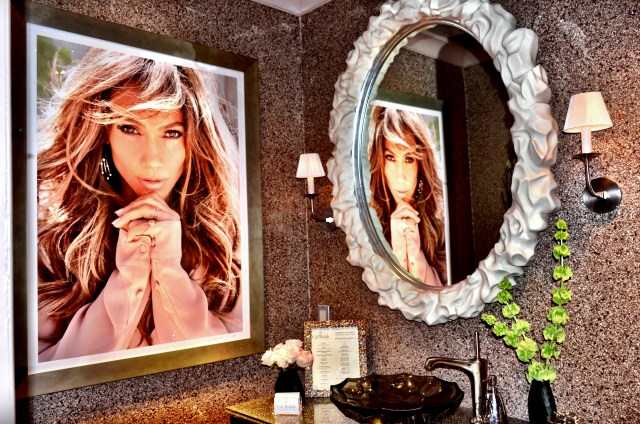 JLo Powder Room Designed by Gil Walsh for Kohler. Photo Credit: Courtney Cachet