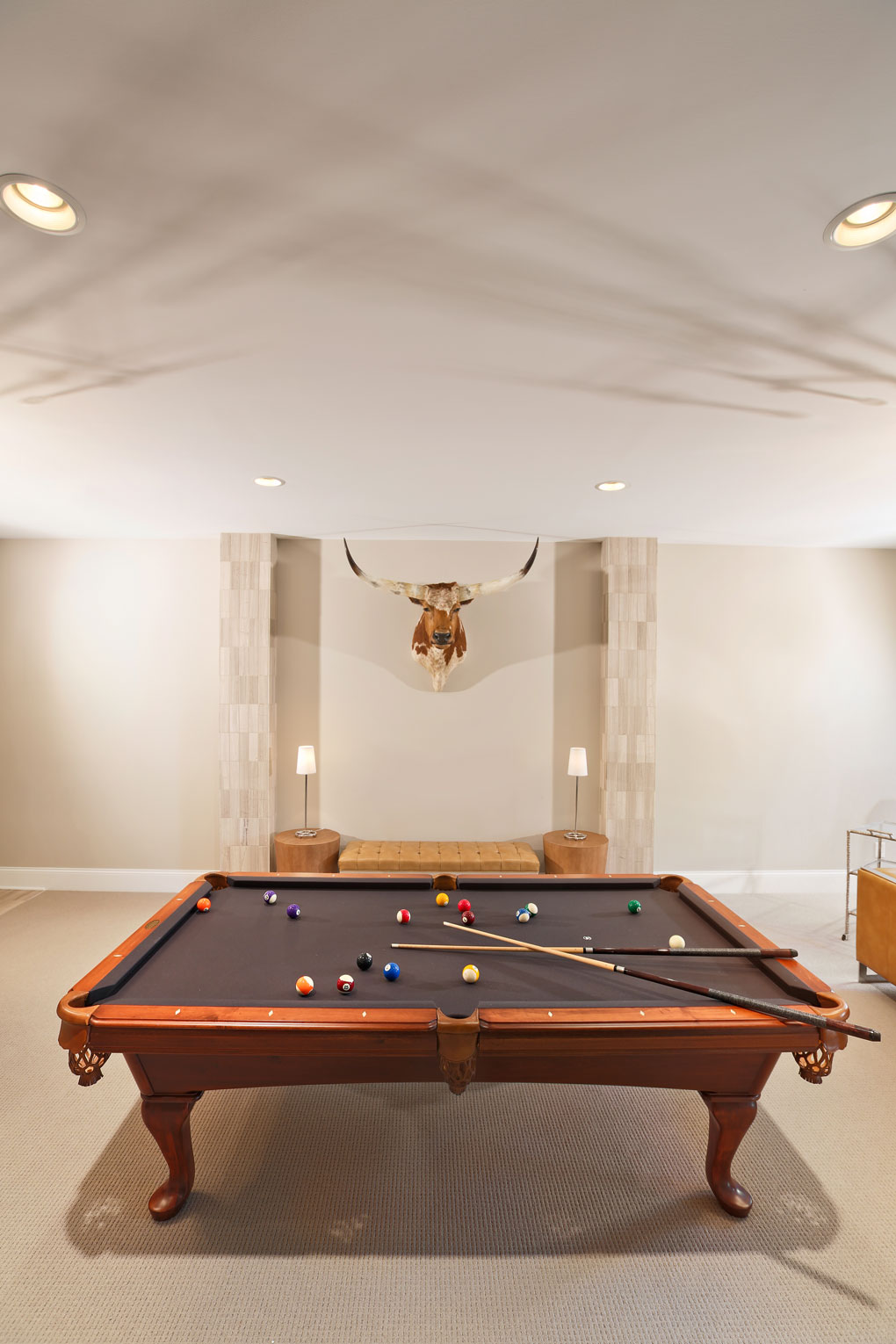 Courtney Casteel, Interior Design Billiard Room Design