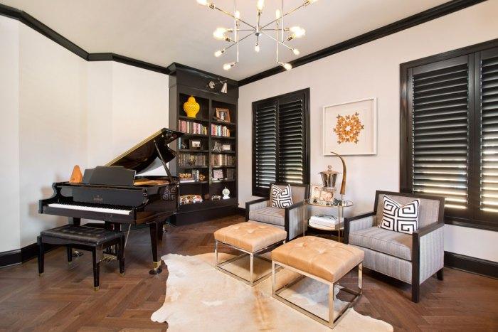 Courtney Casteel, Interior Design Music Room design