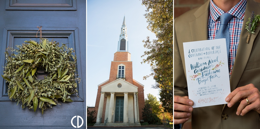 Vine Street Christian Church Wedding
