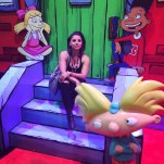 Chillin' on the stoop with the 'Hey Arnold' crew.