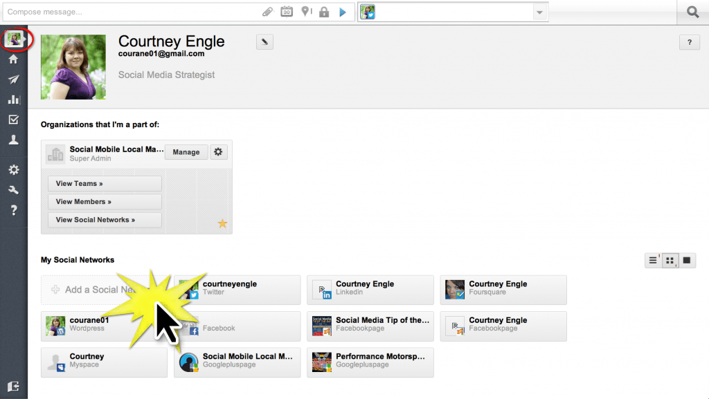 How to add Google+ to Hootsuite