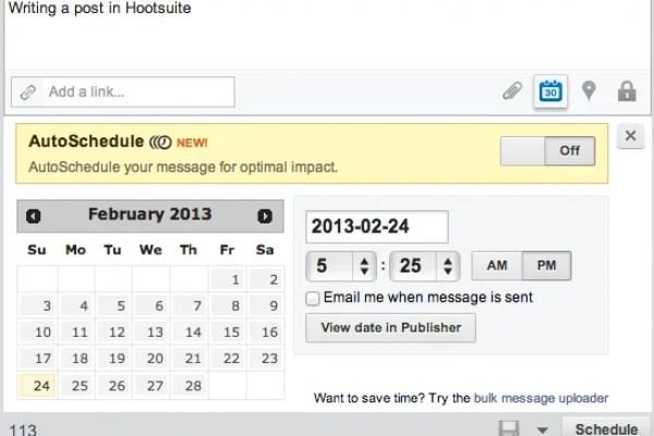 hootsuite update