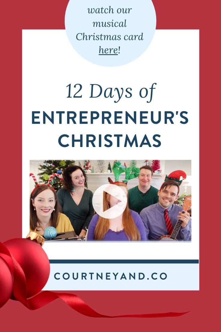 12 Days of Entrepreneur's Christmas