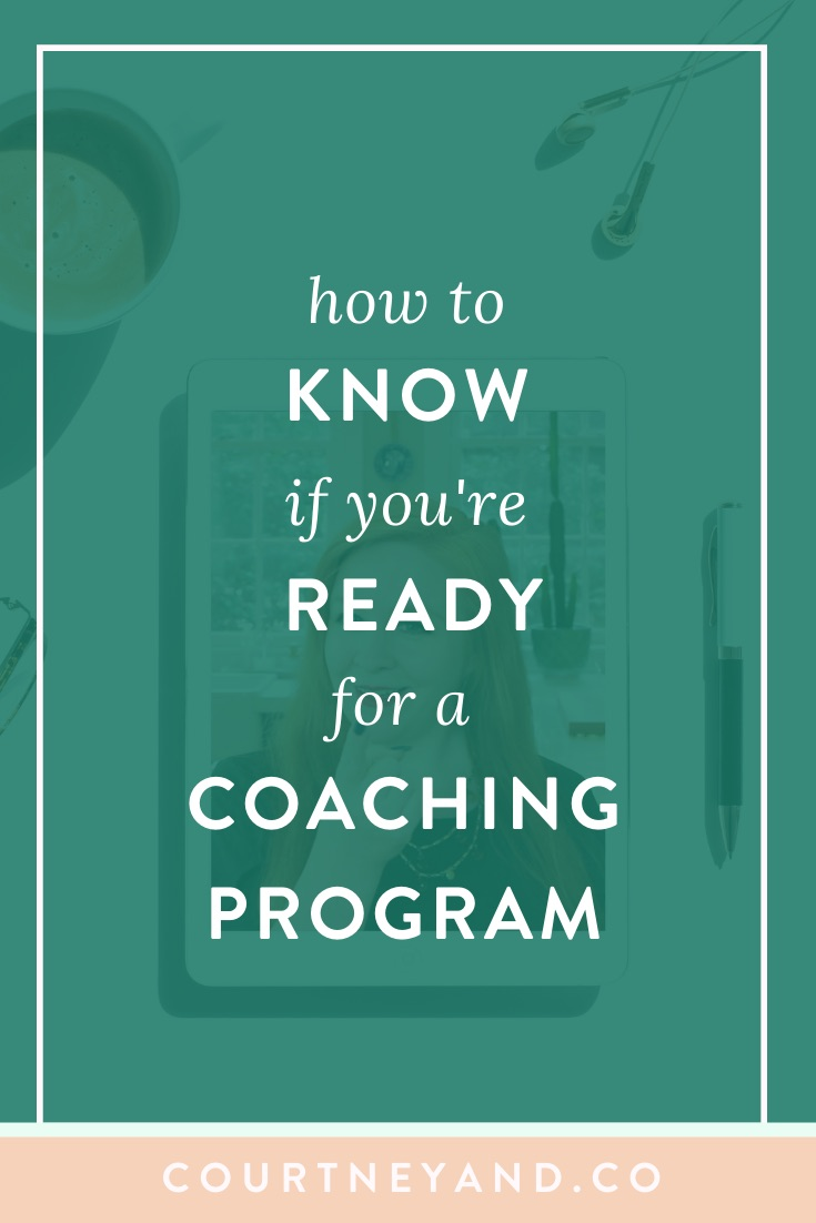 how to know if you're ready for a coaching program
