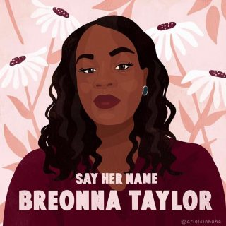 #breonnataylor would have been 27 years old today. Plain-clothes officers broke into her home with a no-knock warrant and shot her. Eight times. They were out to arrest someone who was already in custody. And they got the wrong house. The police officers who killed her have yet to be charged. PLEASE stop what you're doing – even for just a few minutes – and follow the action steps at that link in my bio. @battymamzelle has made it SO EASY to take action. There's no excuse. It'll only takes a moment but it is SO important. Breonna was only 26. She was studying to be a nurse. She was someone's girlfriend. She was someone's child. She was someone's baby. Demand justice for Breonna. #sayhername – then take action. #linkinbio