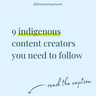 Happy #indigenouspeoplesday! In honor of today and in honor of my great-great grandmother, I want to lift up a few indigenous voices here on Instagram who I enjoy following and learning from every day!  1️⃣Shina Nova @shinanova   Inuk educator and throat singer (she sings with her mother and it's SO soothing 😍) 2️⃣James Jones @notoriouscree   Cree dancer and educator (over 3 million TikTok followers — love him!) 3️⃣Michelle Chubb @indigenous_baddie   Nehinaw content creator and model (love her reels!) 4️⃣Kendra Jessie @kendrajessie   Cree model, dancer, and fitness trainer 5️⃣Nikita Kahpeaysewat @nikitaelyse   Nehiyaw environmental scientist, researcher, and powwow dancer 6️⃣Naiomi Glasses @naiomiglasses   Diné (Navajo) weaver and cleft palate advocate (I live for her reels that show all the gorgeous desert scapes) 7️⃣Tia Wood @tiamiscihk   Nehiyaw video creator (her reels are super educational) 8️⃣ @melemaikalanimakalapuaa   Polynesian content creator teaching about Hawaii's past and present through the eyes of an indigenous person 9️⃣Cheekbone Beauty @cheekbonebeauty   Clean, vegan, and sustainable beauty brand! Home of the 1st Indigenous Beauty Innovation Lab  These content creators and brands educate me and challenge me with their content every. single. day. and continue to provide inspiration and encouragement as I do the continued work of decolonizing my mind and my actions.  If you don't have any indigenous voices in your feed, you can change that today!  AND if you have any accounts of indigenous content creators that you follow and enjoy learning from, tag them below 👇 so we can continue lifting up as many indigenous voices as possible!