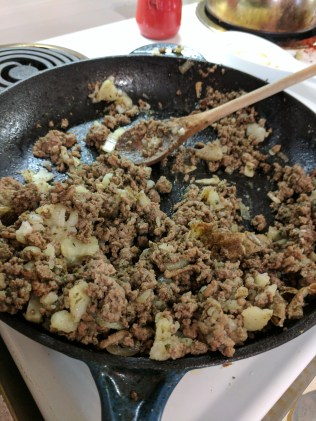 ground meat for tortierre