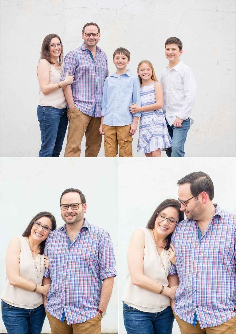 courtney griffin photography's image of a family in light and airy pastel clothing, houston family photographer, best houston baby photographer, best houston family photographer