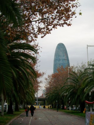 Torre Agbar, by day