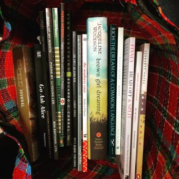 Bag of poetry books