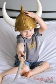 Regina Family Photographer - Liske family - Viking costume