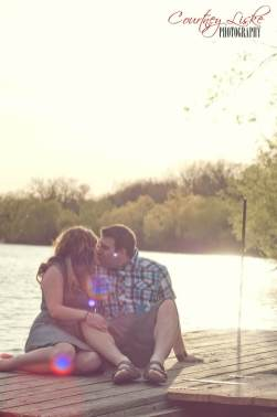 Regina Engagement Photography - Renee & Shawn Dock