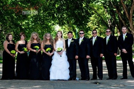 Regina Wedding Photographer - Pam & Grant - Wedding Party