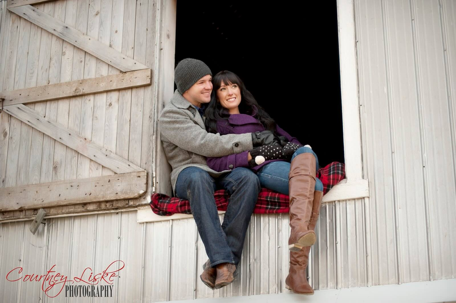 Regina Wedding Photographer - Andrew & Alicia - Barn Window