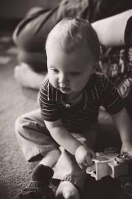 Regina Family Photographer - Elias One Year with Toys