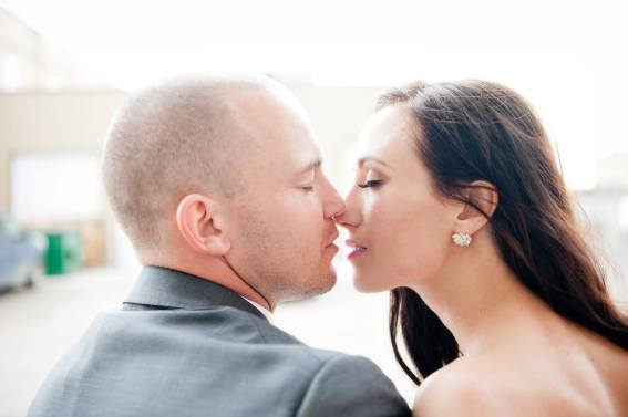 Regina Wedding Photographer - Andrew & Alicia - Anticipated Kiss