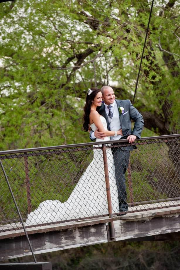 Regina Wedding Photographer - Andrew & Alicia - On the Bridge