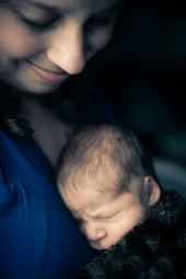 Regina Family Photographer - Jace Newborn - Favel Family - Mom Snuggles