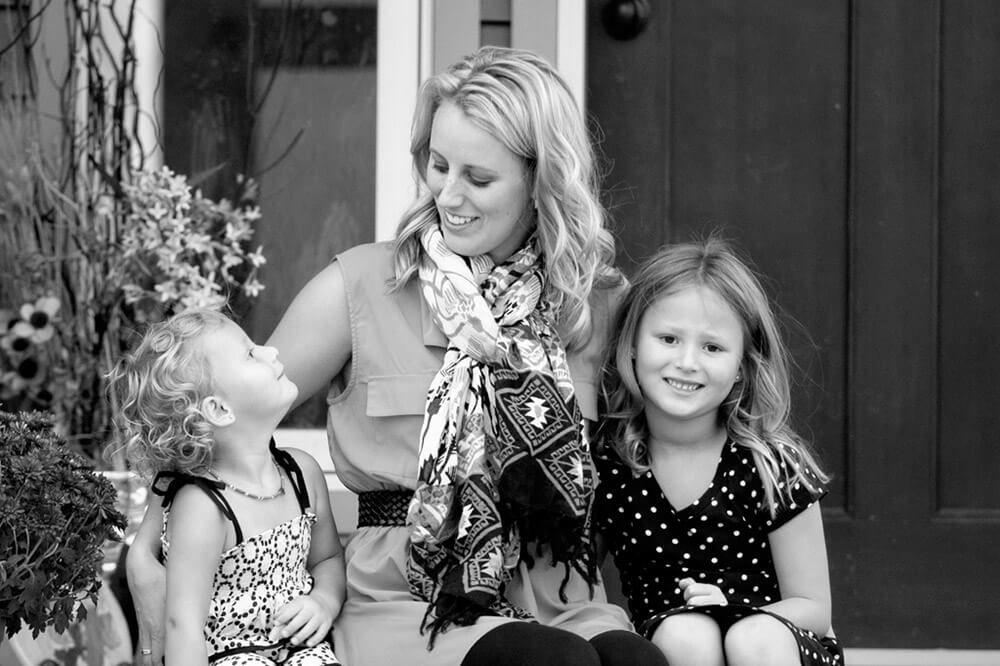 Regina Family Photographer - McCullough Family - Sitting with Mommy