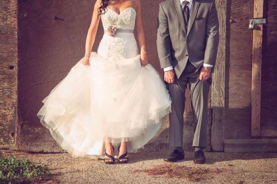 Regina Wedding Photographer - Adam & Vicki - Shoes