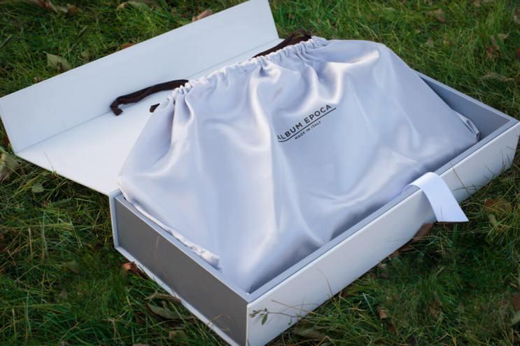 Regina Wedding Photographer - Luxury LayFlat Wedding Albums - Packaging