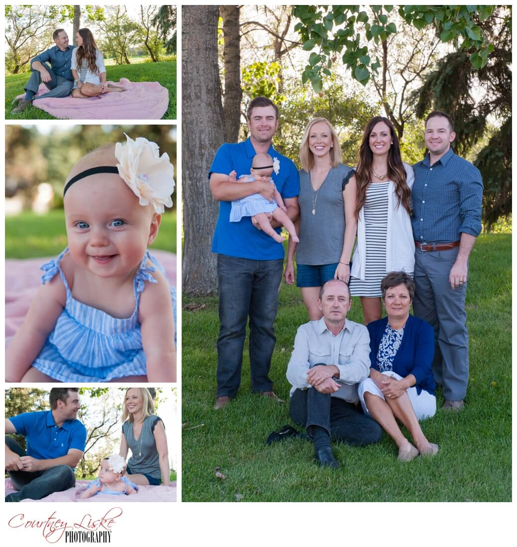 Olson Family - Regina Wedding Photographer - Courtney Liske Photography