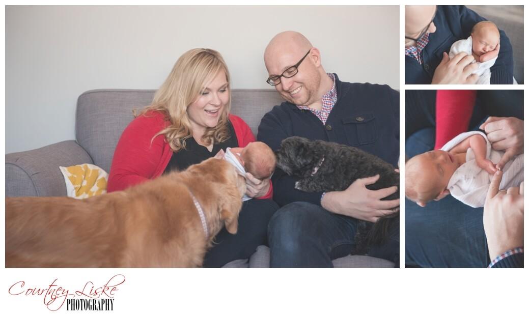 Isla Newborn - Regina Family Photographer - Courtney Liske Photography