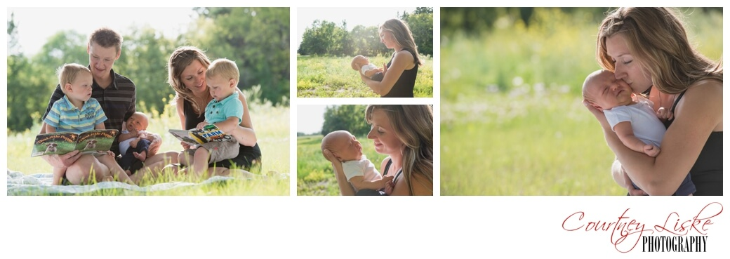 Jarren Newborn - Regina Family Photographer - Courtney Liske Photography