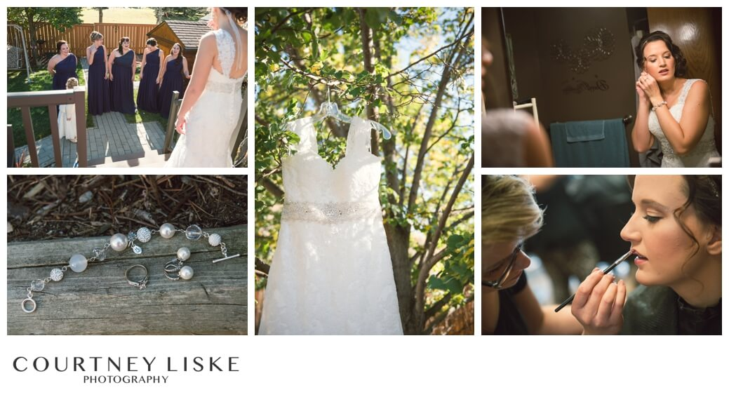 Jarrett & Teala - Regina Wedding Photographer - Courtney Liske Photography