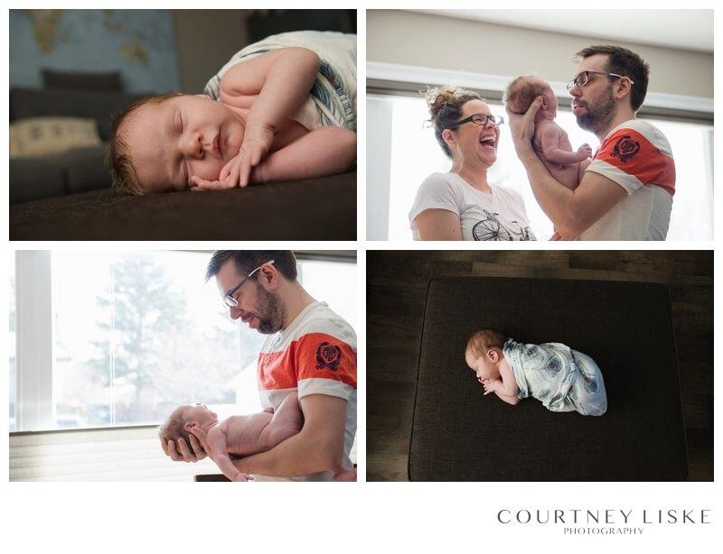 Cooper Newborn - Courtney Liske Photography - Regina Family Photographer - Lifestyle Photography