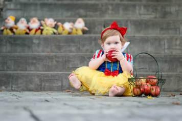 Evelyn is one - Regina Family Photographer - Courtney Liske Photography - One Bite