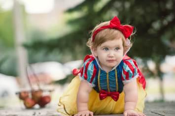 Evelyn is one - Regina Family Photographer - Courtney Liske Photography - Crawl