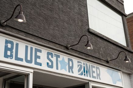 Blue Star Diner in Calgary Alberta