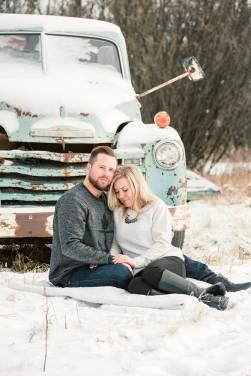 Regina Engagement Portfolio - Trevor-Nicole - Truck