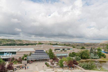 Royal Tyrell Museum in Drumheller Alberta