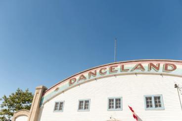 Danceland wedding venue at Manitou Beach Saskatchewan