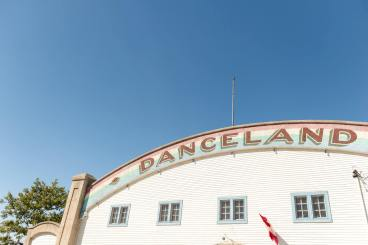 Danceland wedding venue at Manitou Beach Saskatchewan